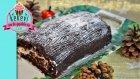 Kütük Pasta 2. Bölüm (Çikolatalı Pasta Kreması ve Süsleme) - Kekevi Pasta Tarifleri