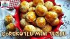 Pastane Tuzlu Kurabiyesi / Çörekotlu Mini Tuzlu