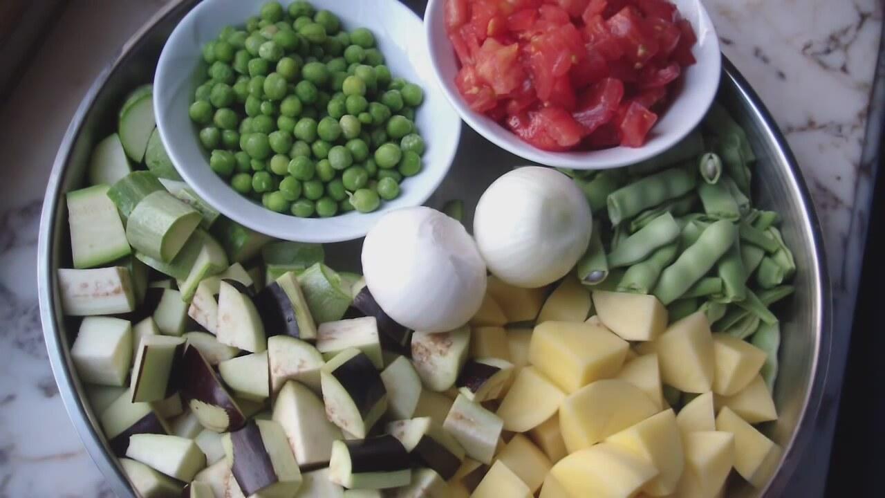 sebzeli türlü tarifi