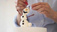 Tatlı Bir Dakika - Şeker Hamuru İle Frozen Filminden Olaf Karakterini Modelliyoruz
