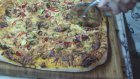 Tepside Çift Biberli Zeytinli Kolay Pizza - Kekevi Yemek Tarifleri
