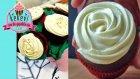 TopKek Çiçek Buketi 2. Bölüm - Krem Peynirli Cupcake Kreması