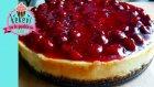 Vişne Soslu Cheesecake - Kekevi Tatlı Tarifler