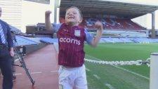 6 yaşındaki çocuk Aston Villa'nın yeni hocası oldu!