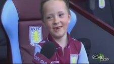6 Yaşında Aston Villa'nın Başına Geçti