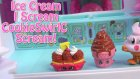Ice Cream Van Truck Moshi Monsters Queen Elsa MLP Fash'ems Shopkins Ice Scream Food Factory Fun