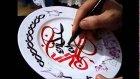 Kaligrafi Aşktır - Seni Seviyorum