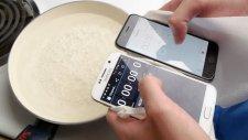 Samsung Galaxy S6 ve iPhone 6 Kaynatma Testi!