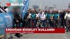 Cumhurbaşkanı Erdoğan Bisiklet Turunda