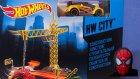 Hot Wheels İnşaat Bölgesi Oyun Seti Oyuncak Tanıtımı