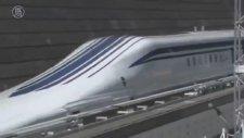 Dünyanın En Hızlı Treni 590 Km