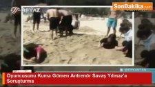 Plajda Öğrencilerin Üzerine Köpek Salan Hokey Antrenörüne Soruşturma