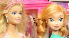 Barbie Gelinlik Provası Ve Prenses Anna - Evciliktv Oyuncak Oyunları