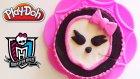 Play Doh Monster High Oyun Hamuru Pasta Yapımı