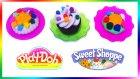 Oyun Hamuru Pasta Cupcake Kurabiye Yapımı