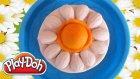 Play Doh Oyun Hamuru İle Papatya Pasta Yapımı