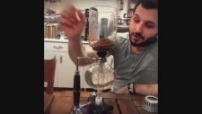 Uzman Eğitmen Yunus CAKMAK Syphon Filitre Kahve Demleme