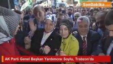 AK Parti Genel Başkan Yardımcısı Soylu, Trabzon'da