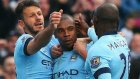 Manchester City 3-2 Aston Villa - Maç Özeti (25.4.2015)
