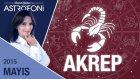 AKREP burcu aylık yorumu Mayıs 2015
