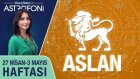 ASLAN burcu haftalık yorumu 27 Nisan - 3 Mayıs 2015