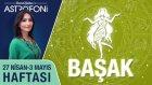 BAŞAK burcu haftalık yorumu 27 Nisan - 3 Mayıs 2015