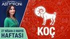 KOÇ burcu haftalık yorumu 27 Nisan - 3 Mayıs 2015