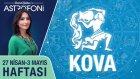 KOVA burcu haftalık yorumu 27 Nisan - 3 Mayıs 2015