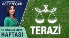 TERAZİ burcu haftalık yorumu 27 Nisan - 3 Mayıs 2015