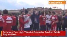 Tuzlaspor 2'nci Lig'e Yükseldi Zonguldak Taraftarı Rakibi Bağrına Bastı