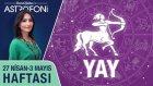 YAY burcu haftalık yorumu 27 Nisan - 3 Mayıs 2015