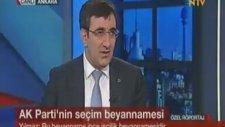 Kalkınma Bakanı Cevdet Yılmaz Ntv'de Ahmet Ergen'in Sunduğu Ekonomi Notları Programının Canlı Yayın