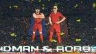 Batman ve Arjen Robben! Müthiş Şov...