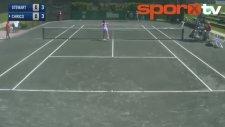 Bu Hareket Tenis Tarihine Geçer!