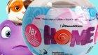 Evim Çizgi Filmi Sürpriz Yumurta Oyuncak Açımı DreamWorks Home Movie