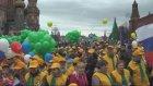 Kızıl Meydan'da 1 Mayıs kutlamaları