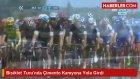 Bisiklet Turu'nda Çimento Kamyonu Yola Girdi