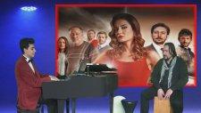 Jenerik Müziği Kara Ekmek Genç Piyanist Ve Cajon, Vurmalı Çalgılar İle Piyano Dizi Film Müzikleri