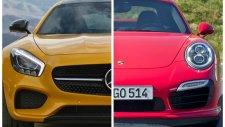 Mercedes AMG GT S ve Porsche 911 Turbo karşılaştıması
