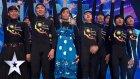 Asya Yetenek Yarışmasına Damga Vuran Gölge Dansı Performansı