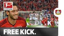 Hakan Çalhanoğlu Frikikten Attı Bayern Münih Dondu Kaldı