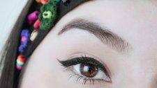 Eyeliner Nasıl Çekilir? | İnce Kuyruklu Eyeliner Nasıl Sürülür