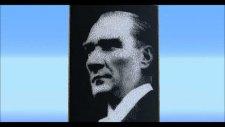 Türkçe Minecraft - Atatürk Portresi