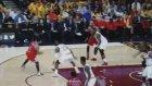 Derrick Rose LeBron James'e rağmen basketi buldu!