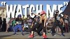 Küçük Sokak Dansçılarından Muhteşem Rap Gösterisi