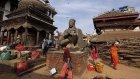 Nepal'de Deprem Tarihi Eserleride Vurdu