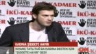 Kivanc Tatlitug in Bende Hayir Diyorum Campaign ( CNN TURK Ana Haber Report - March 7th 2012 )