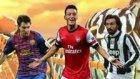 Messi, Pirlo ve Mesut Özil'li Enerji İçeceği Reklamı