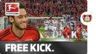 Hakan Çalhanoğlu'nun Neuer'e attığı frikik golü