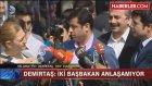 Demirtaş'tan İçeri Alınmayan Gazetecilere: Polis Üniforması Giyseydiniz